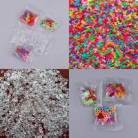 Clasps & Hooks Plastic Valentine's Day Rainbow Rubber Band Loom Style Craft Buckle Clip Transparent C S Buckle Clips 10 Lots 240Pcs GNH