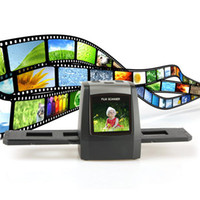 Wholesale mm High Resolution Film Scanner with Inch LCD Screen and SD Card Slot Free Ship