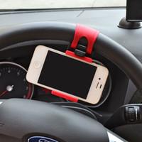 Wholesale car gps navigator steering wheel for mobile phone holder