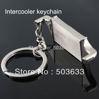 Key Chains auto intercooler - Creative Hot Sale Intercooler Auto Parts Accessories Keychain Key Chain Ring Key Fob Keyring
