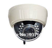Wholesale HD P H MegaPixel Wireless WiFi Dome IP Camera Memory G Motion Detect IR Night Vision M Free DDNS