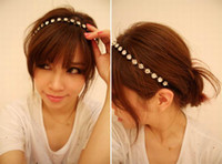Headbands As the Picture Asian & East Indian Women Headbands Jewelry Rhinestone Hairbands Lady Hair Accessories FS9003*1