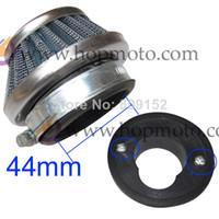 Wholesale 47cc cc pocket bike mini ATV small dirt bike Air Filter stroke engine Plating filter