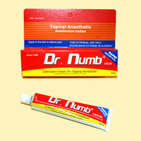 New 1pc/lot 30g/tube Topical 30g DR Numb Cream Anesthetic Rapid Absorption Painless Tattoos Cream For Tattoo Piercing Makeup New Supply