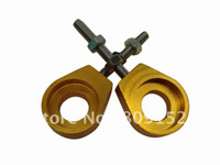 Wholesale Alu chain adjuster for dirt bike pit bike spare parts drive system