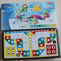 Wholesale 201407y Flying chess Magnetic pieces Folding board