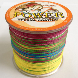 4 Strands POWER Braided Fishing Line 500m Japanese Multifilament line 10lb-100 LB Incredible Superline Zero Stretch