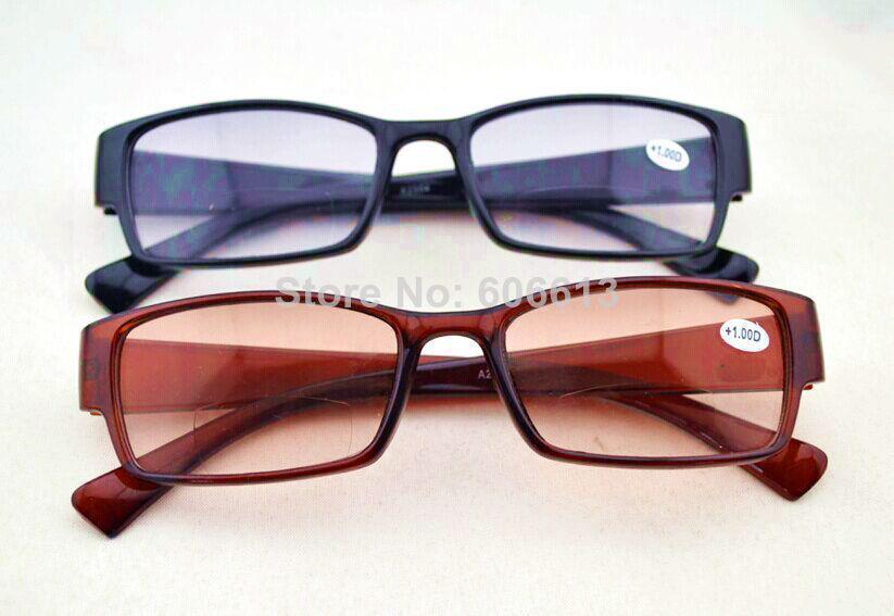 new colored lens vision bifocal reading glasses vintage