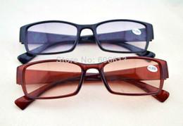 Wholesale New Colored Lens Vision Bifocal Reading Glasses Vintage Clear Reader