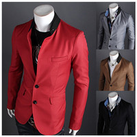 2014 fall Korean new fashion men's suits slim fit casual jac...