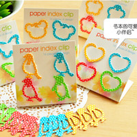 Wholesale 64 bags NEW Fashion Animal Birds Bookmark Clip Cute Cartoon Page Holder for Kids Creative Gifts