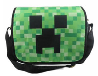 Creeper Minecraft Flight Messenger Shoulder Bag 32