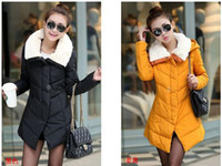 beaver jackets - Brand New Down jacket middle Long section high grade Beaver rabbit Heavy hair collar Cultivate one s morality Cotton clothes