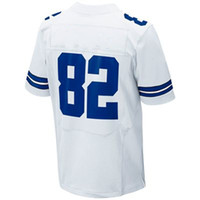 Football Men Short Wholesale #82 Jason Witten Elite Jersey White American Jersey Football Jerseys 40-60 free shipping Mix order