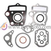 Kick atv engine - 50 cc dirt bike pit bike cylinder Gasket Set for ATV engine spare parts use