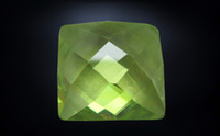 Wholesale 5 mm synthetic green Sapphire Square Shape zircon from wuzhou