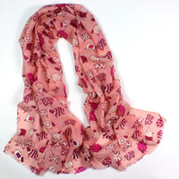 Wholesale New arrival wool print scarf popular multi colored sheep cashmere scarf lovely scarf