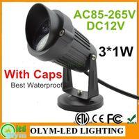 Cheap IP65 led garden street light Best DC 12V high power lawn light