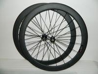 Wholesale High quality C Carbon Clincher Wheelset mm carbon road wheels C carbon fiber road bike wheels ceramich bearing hubs available