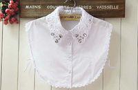 Wholesale 2015 new shirt false collar necklace women all match fake detachable collars fashion costume accessory FC171