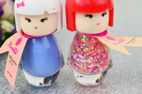Wholesale Cute little girl Nail polish paillette pure color Nail polish girl nail polish
