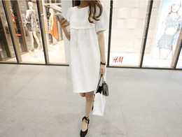 Wholesale 2014 Summer Cotton Maternity Clothing Pregnant Dress For Pregnant Women Plus Size