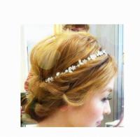 Wholesale Hot Sale Women Headbands Jewelry Rhinestone Headpiece Chain Hairbands Lady Hair Accessories Fit Travel Wear FS9014