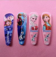 Hot popular Frozen girls hairpins children cartoon hairpins ...