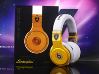 Wholesale fashion brand new Lamborghini pro noise cancelltion Headphones Earphones