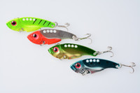 crappie jigs - Fishing Lure Blade Lure Metal VIB Hard Bait Fresh Water Shallow Water Bass Walleye Crappie Minnow G Fishing Tackle