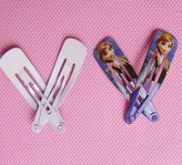 Barrettes barrette for sale - Hot Sale Cheap Frozen Hair clips for Girl frozen Hair Accessories Lovely Frozen Elsa Anna Hair pin for Girls hair Accessories