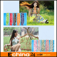 Wholesale Mix Color Cool Water Band Speed to Cool Towel Cooling Scarf Ties Neck Scarves