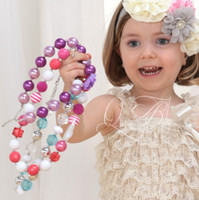 Cheap Charms chunky necklace Best European Beads Circle bubblegum necklace