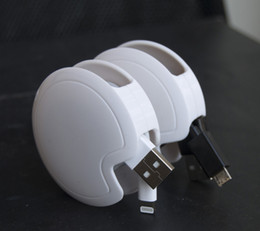 Wholesale Cable Organizer automatic cord winder cable earphone USB Data line cable cord manager charger s organizer recoil headphone take up device ma