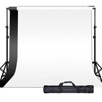 Wholesale 3M X M Photography Photo Studio Muslin Backdrop Background Support Stand Kit