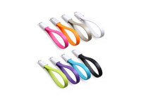 Wholesale Micro USB Data Sync Cable Cables cm Flat Short Line Charger For HTC Phone New