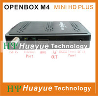 Wholesale Original Openbox M4 mini HD multi media player satellite receptor with CCCAM support arabic IPTV G GPRS Youtube cheap decoder