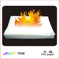 Wholesale Large fire paper cm White flash paper magic tricks magic paper