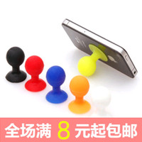 Wholesale Octopus balls sucker stand round the desktop phone desktop stand lazy movie silicone small suction cup bracket bracket