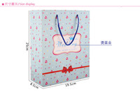 not accept recyclable gift wedding love heart paper gift bag, Festival gift bags, birthday gift bag ,Paper bags with handles, free shipping wholesale price