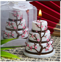 Wholesale wedding party candle festival smokeless cherry cake candle children birthday party candle Creative Candles small wedding gift