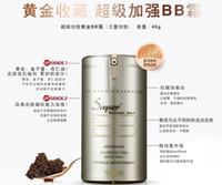 Wholesale Korean Anti Wrinkle Cream - New Famous Korean Perfect BB Cream VIP Gold Super+ Beblesh Balm BB Cream 40g Whitening Anti-Wrinkle Sunscreen SPF25 PA++ Wrinkle Improvement