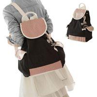 Wholesale S5Q Canvas Travel Backpack School Bag Satchel Shoulder School Bag Rucksack Bookbag For Women And Ladies AAADQQ