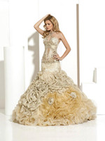 Cheap Trumpet/Mermaid wedding Dress Best Reference Images Halter wedding gown