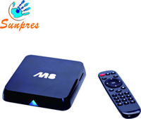 Wholesale Legoo android tv box smart quad core amlogic s802 XBMC build in wifi d M8