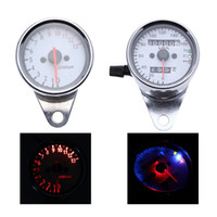 Wholesale Dual Odometer Speedometer Tachometer Motorcycle with Backlight