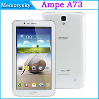 Ampe 3g gps 7inch tablet pc - Ampe A73 G tablet pc inch mtk8312 Dual Core MB G Android GPS Bluetooth Dual Camera MP phablet