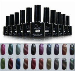Wholesale 3PCS d magnetic cat s eye Soak Off LED UV Gel Shellac color Nail Art Nail Polish Gel nails