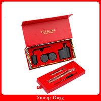 Red Metal  Snoop Dogg Red G Pen Electronic Cigarette Gift kits