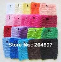 Headbands Lace Animal Mix 10pcs New Arrival 20cm X 23cm Baby Girl Crochet Tutu Tube Tops Chest Wrap Wide Crochet Headbands Wholesale Free Shipping